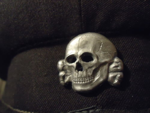 1a41890caef Question Is this a original SS metal cap insignia eagle and skull