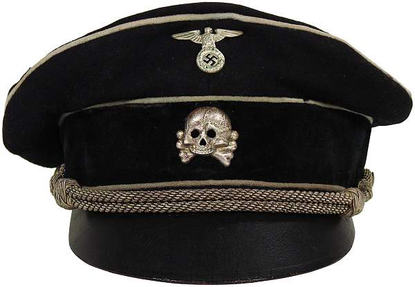 SS Cap Skull Totenkopf real or fake