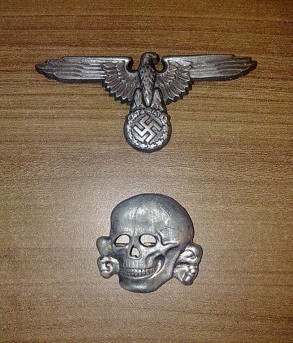 Ss cap skull, and eagle i've been offered.