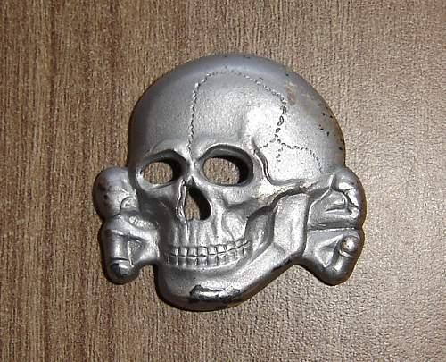 SS cap skull 499/41 original?