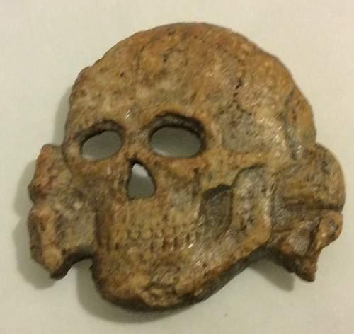 Relic SS totenkompf skull