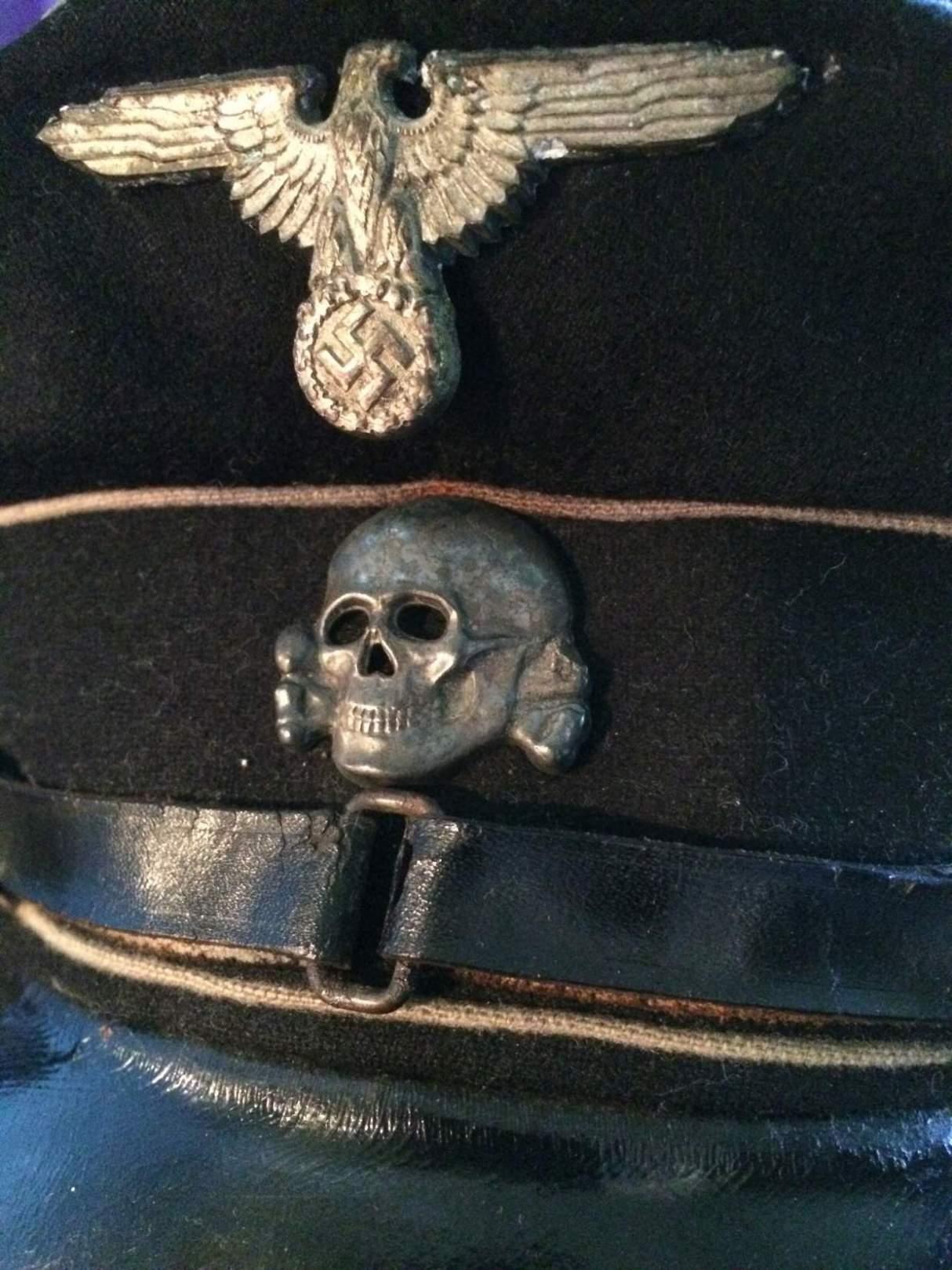 Totenkopf ss button