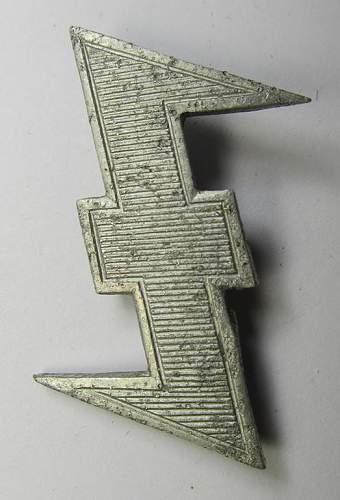 Dutch Germanic SS cap wolfhook