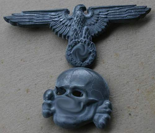 RZM M1/52 SS skull and eagle original?