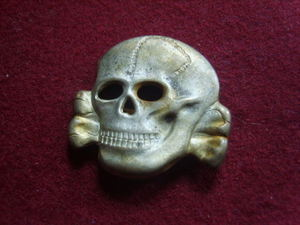 Totenkopf, real or fake, i am guessing fake?