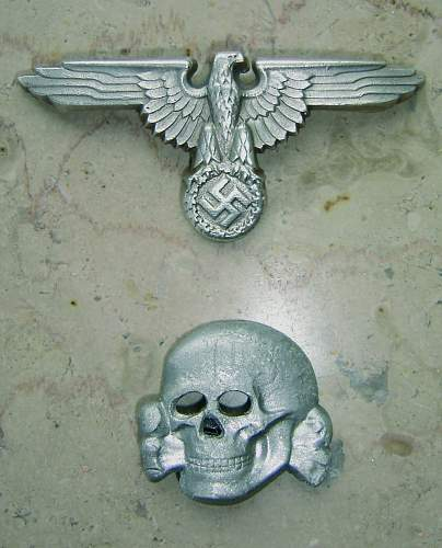 s.p.40 skull and M/8 eagle