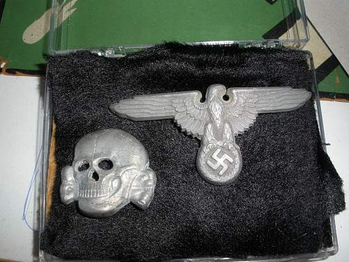 ss skull and eagle SS 373/43 marked