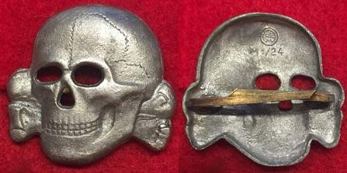 Opinions pleas on SS Skull.  Is this real or fake?