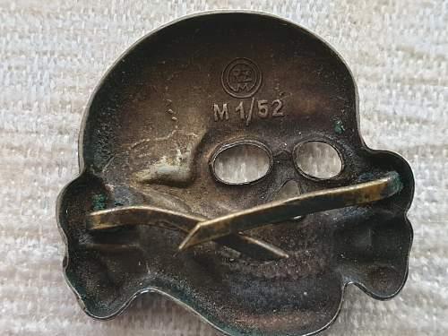 Transitional Totenkopf Deschler M1/52