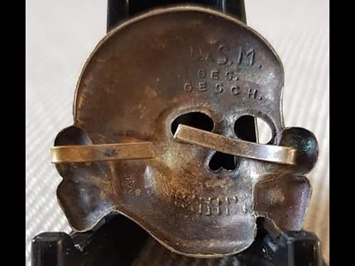 Early Deschler skull