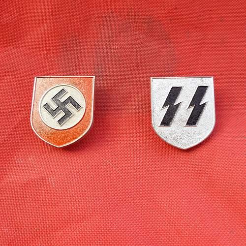 SS Pith Helmets Shields......