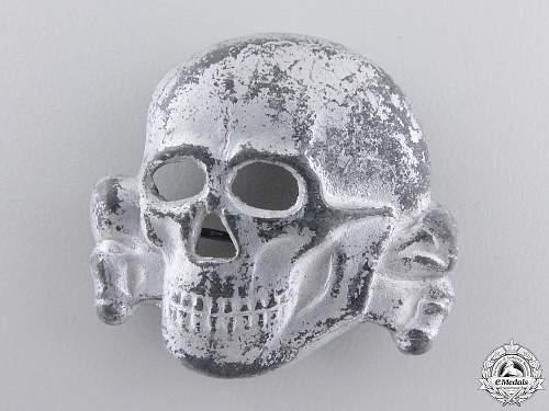 SS Visor Cap Skull – Belgian Made?