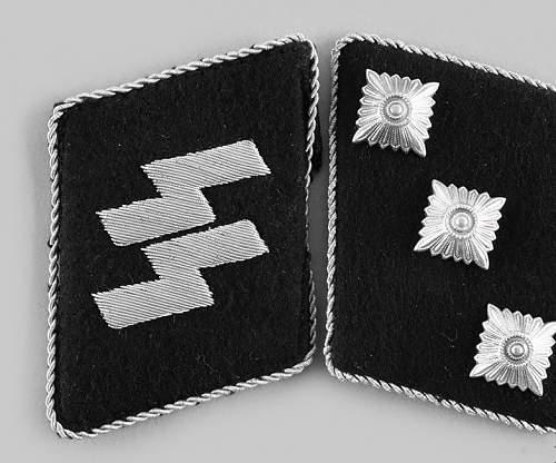 SS Sturmführer Collar Tabs Opinions