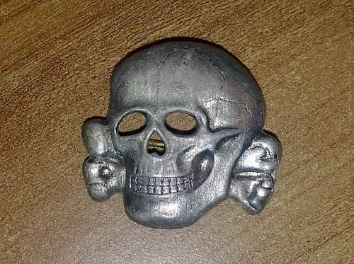 Does this ss cap skull authentic? Ges Gesch marked