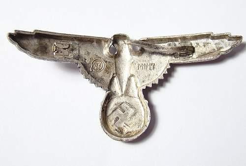 SS Cap Eagle - Good or Repro???