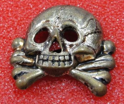 SS visor cap skull - new