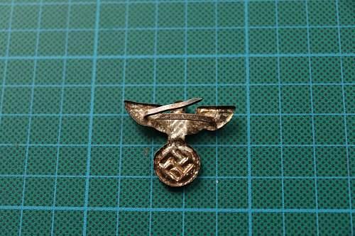 SA/SS cap insignia