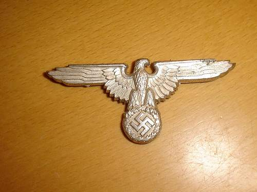 RZM M1/52 marked cap eagle