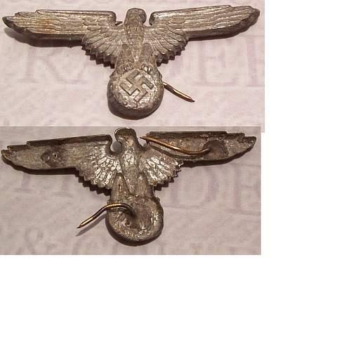 Assman RZM SS 155/42 visor cap eagle original or not?