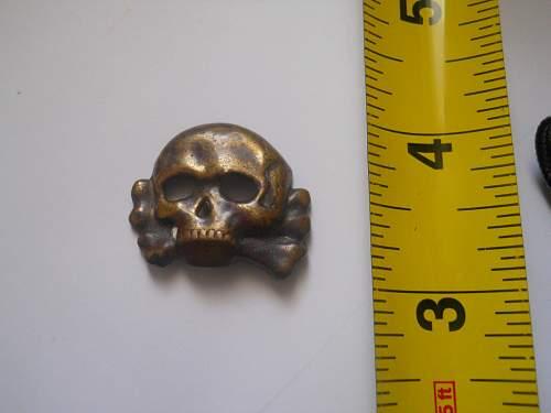 Early jawless SS Skull ?