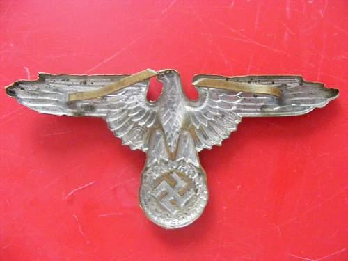 SS Visor / Cap Eagle