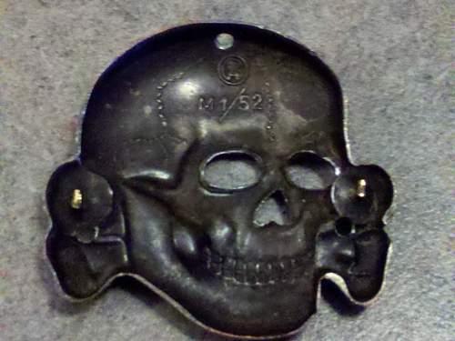 Cupal Totenkopf RZM M1/52