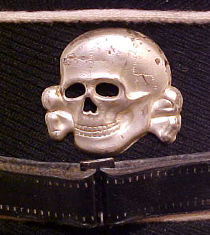 SS cap skull, and related items