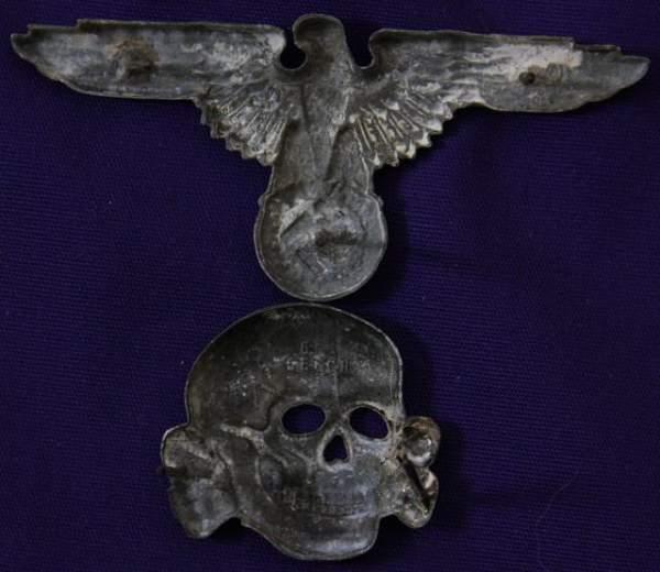 eagle and skull