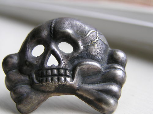 SS or Panzer Skull