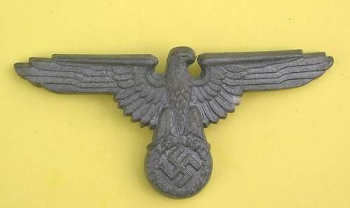 Assmann made SS cap eagle
