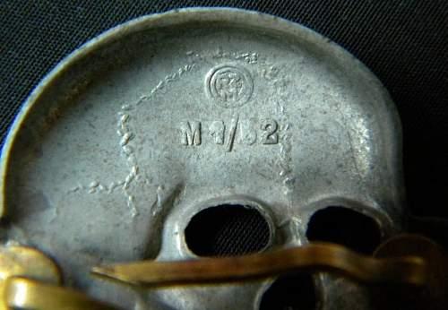 Totenkopf, real? RZM M1/52