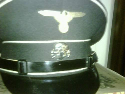SS visor skull Deschler & Sohn - Original or some junk?