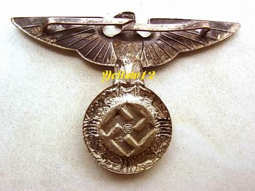 Early SS cap Eagle ?