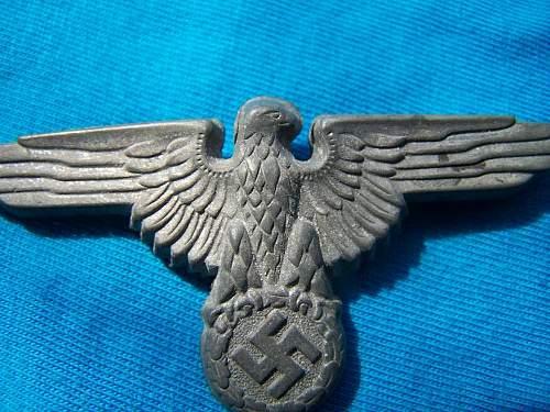 Unmarked Zimmermann eagle?