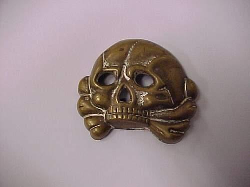 identify SS skullhead digged up