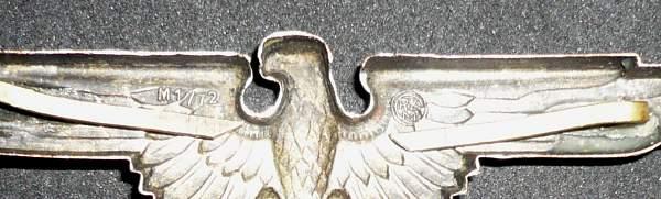 SS skull & eagle