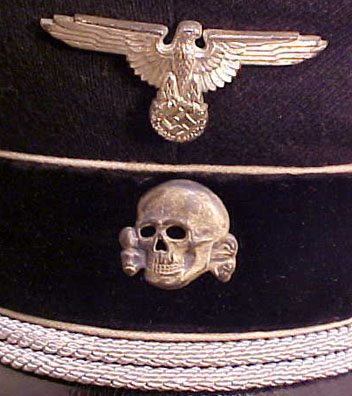RZM M1/52 Totenkopf cap skull with a story