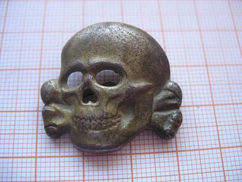 SS cap skull or not? RZM M1/52