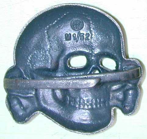 SS Totenkopf RZM M1/52