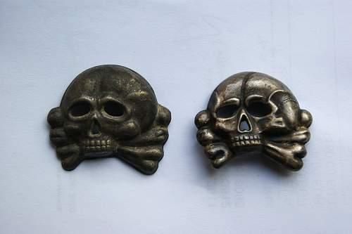 SS Officer Skull