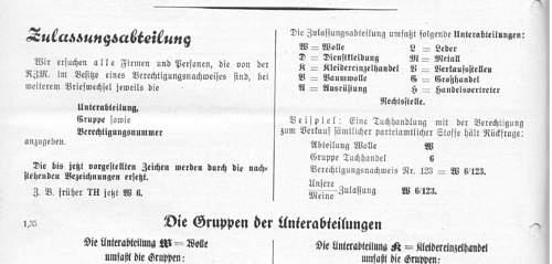 Unissued Totenkopf in packet-  Deschler RZM M1/52. Genuine?