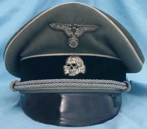SS cap badge