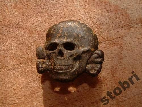 SS skull Ges Gesch.marked: False or orginal?