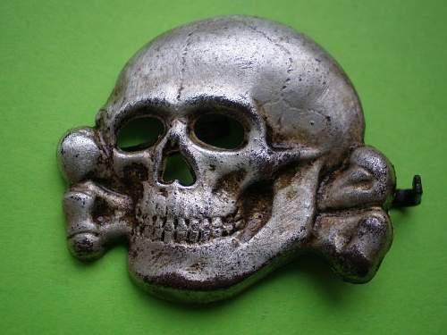 Its this skull orginal? Ges Gesch. marked