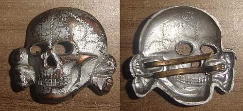 SS Gold Cap skull?