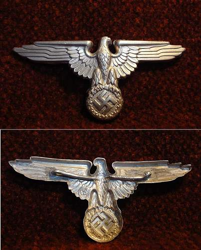 I need help with this SS eagle. Real deal or bum deal?