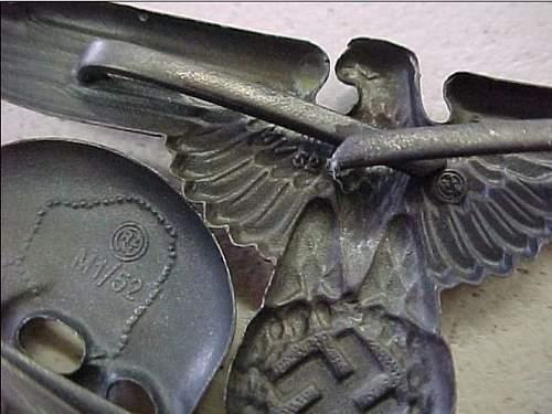 Totenkopf and Eagle