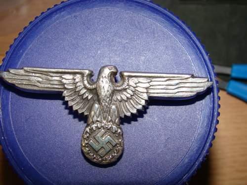 Is this SS cap eagle original???