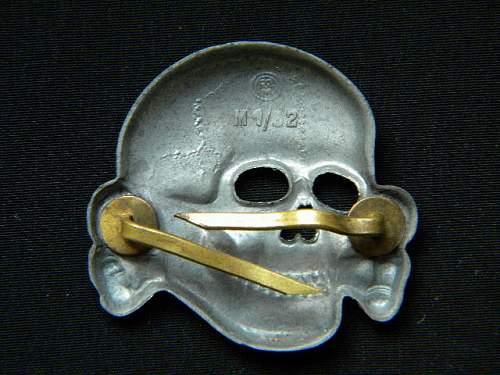 SS Skull RZM M1/52