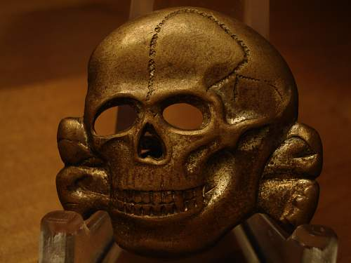 Totenkopf Real? RZM 41 marked